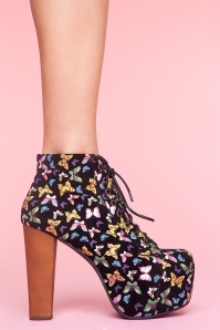 Lita platform boot in Butterfly. $162. So amazing. Photo: nastygal.com