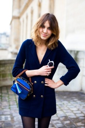 The lovely Alexa Chung. Photo via hairstylesfresh.blogspot.com