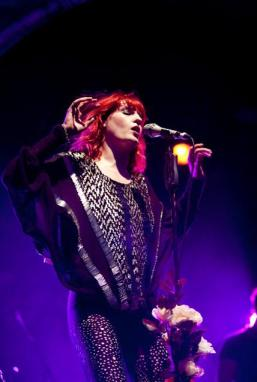 Florence is FANTASTIC. Just look at her! Photo via florenceandthemachine.net