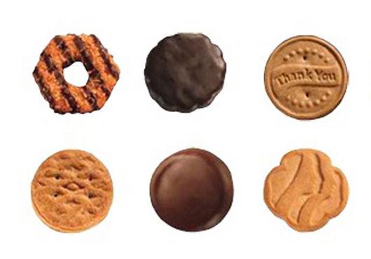 food girl scout cookie season 2pf