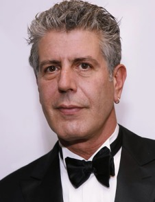 Anthony Bourdain, chef and super cool badass