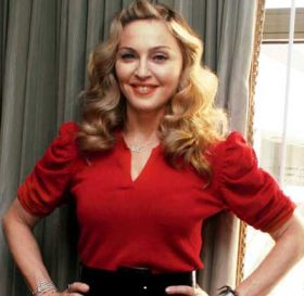 The legendary Madonna. Photo: via kovideo.net