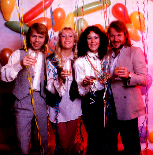 ABBA, before or maybe during hating each other to pieces. Music is good though. Photo: FUCK YEAH ABBA! via tumblr