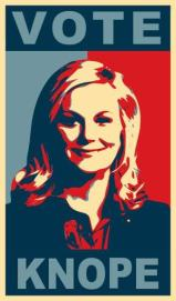 Vote for Leslie Knope