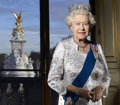 The Queen's 60th Diamond Jubilee photo. Photo via royal.gov.uk