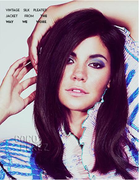 Beauty. Photo via Flaunt Magazine