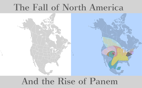 An incredible map of the Hunger Games' Panem – 2PF on
