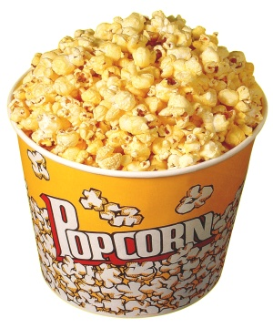 I can't remember the last time the popcorn at the movies was good. What is this world coming to?! Photo via diabetesmine.com