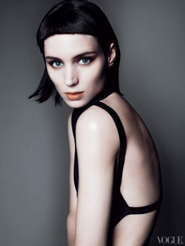 Rooney Mara in Vogue. Photo via vogue.com