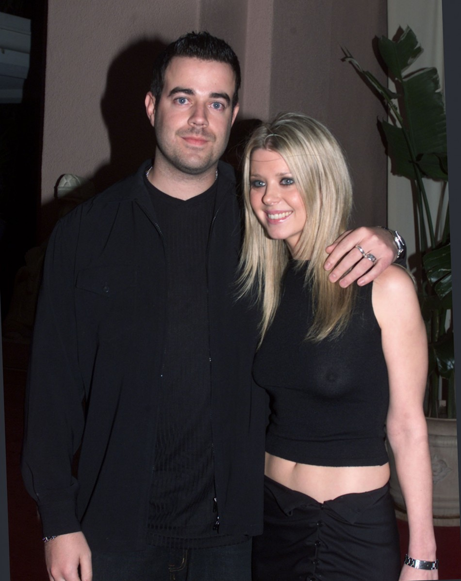 Forever Young Carson Daly And Tara Reid 2pf