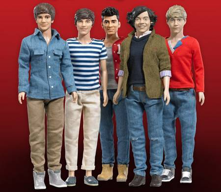 One Direction has the dolls, now where are the DANCE MOVES