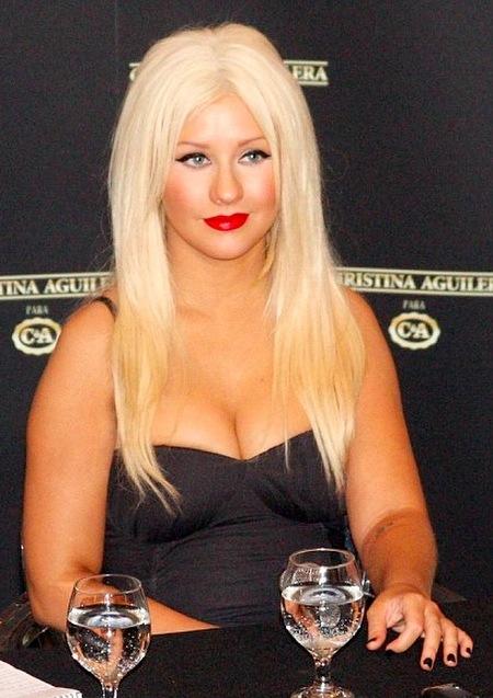 Christina Aguilera Got Fat