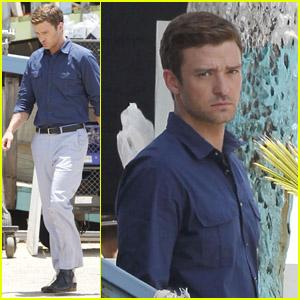 Justin Timberlake Films on Justin Timberlake Filming In Puerto Rico