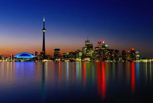 Toronto is pretty.