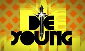 "a still of Ke$ha's lyric video for ""Die Young"""