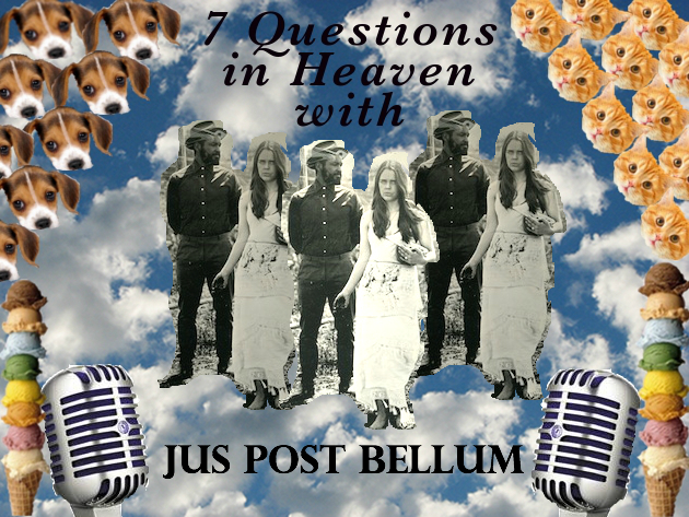 jus post bellum band music