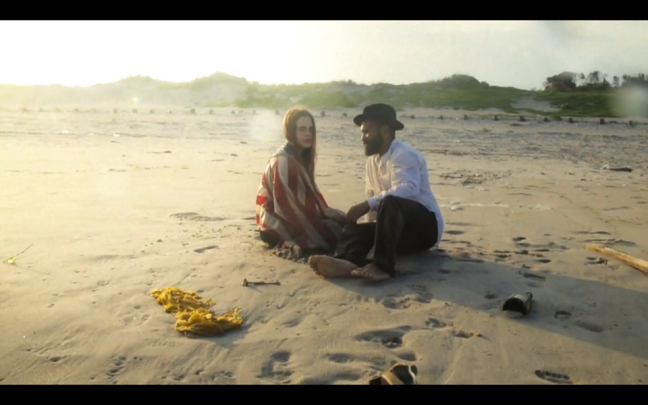 "Still from the ""Gimme That Gun"" video shot, directed and produced by William Hereford , Alyssa Pagano and Oscar Hudson."