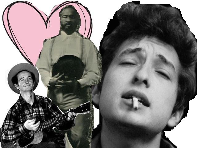 Woody Guthrie Bob Dylan