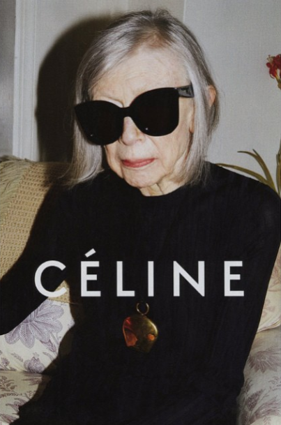 Joan Didion for Celine